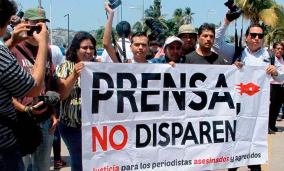 Prensa española repudia asesinato de periodistas en México