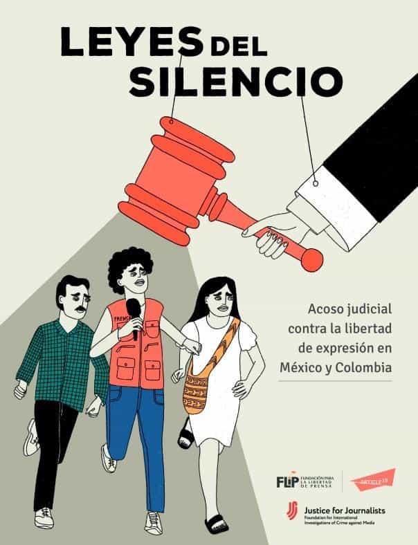 Acoso judicial en México y Colombia