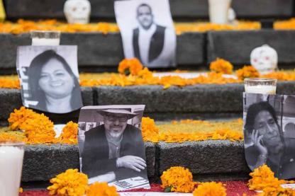 Radiografía: 21 años de asesinatos de periodistas en México