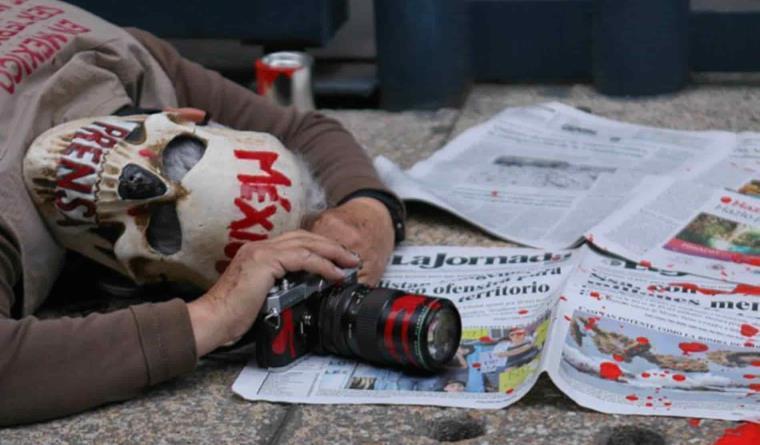 """Alerta la SIP """"amenazas cada vez más burdas"""" del crimen contra periodistas en México"""